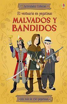 MALVADOS Y BANDIDOS. EL VESTUARIO EN PEGATINAS