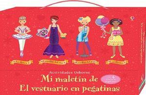 MI MALETIN DE LA DANZA LAS FIESTAS ESTRELLAS DEL CINE Y DEL POP. EL VESTUARIO EN PEGATINAS (4 LIBROS)