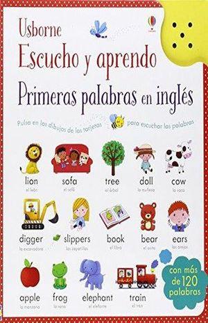ESCUCHO Y APRENDO PRIMERAS PALABRAS EN INGLES / PD.