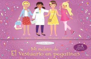 MI MALETIN DE EL VESTUARIO EN PEGATINAS (4 LIBROS) (ESTUCHE)