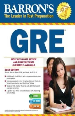 GRE / 21 ED. (WITH CD ROM)