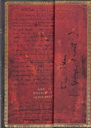 Libreta Orwell 1984 / pd. (Midi hojas blancas)