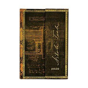 AGENDA 2020 TESLA MINI SKETCH OF A TURBINE