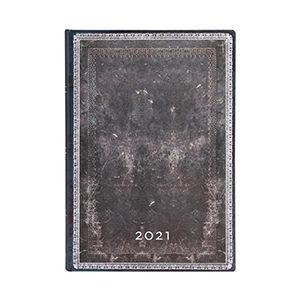 Agenda 2021 Midnight Steel Midi