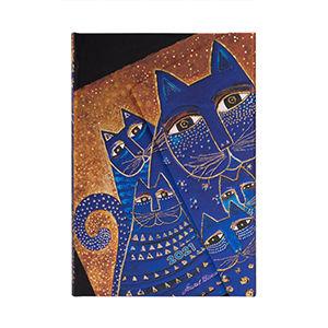 Agenda 2021 Blue Cats & Butterflies Midi