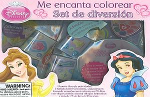 ME ENCANTA COLOREAR SET DE DIVERSION DISNEY PRINCESA