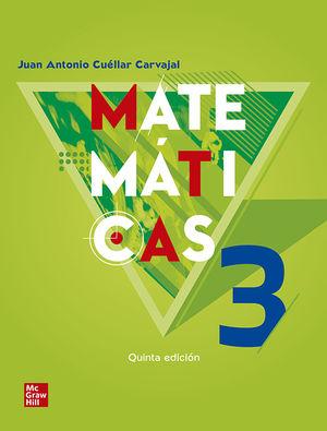 MATEMATICAS 3. BACHILLERATO / 5 ED.