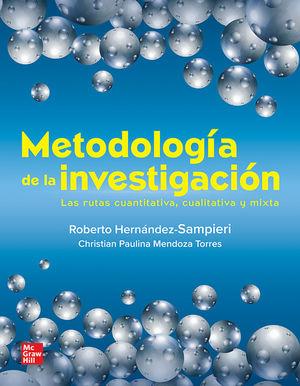 Bundle Metodología de la investigación. Las rutas cuantitativa, cualitativa y mixta con Connect