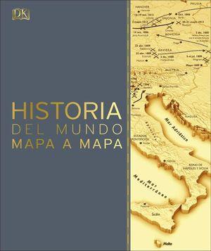 Historia del mundo mapa a mapa / pd.