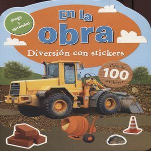 DIVERSION CON STICKERS. EN LA OBRA
