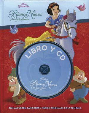 Blanca Nieves y los siete enanos (libro y cd) / pd.