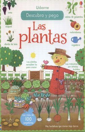PLANTAS, LAS. DECUBRO Y PEGO