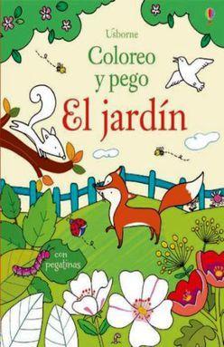 JARDIN, EL. COLOREO Y PEGO