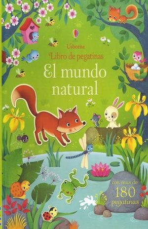 MUNDO NATURAL, EL. LIBRO DE PEGATINAS