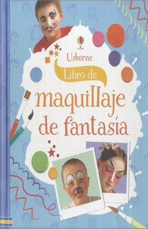 LIBRO DE MAQUILLAJE DE FANTASIA