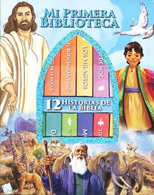 MI PRIMERA BIBLIOTECA 12 HISTORIAS DE LA BIBLIA / PD.