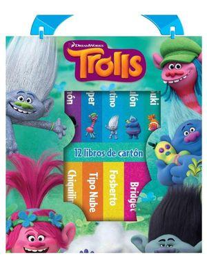 Paquete Trolls (12 libros de cartón) / pd.
