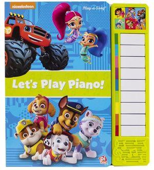 Paw Patrol. Piano Nick Jr. Vamos a tocar el Piano / pd.