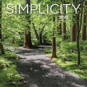 CALENDARIO SIMPLICITY 2020 SQUARE