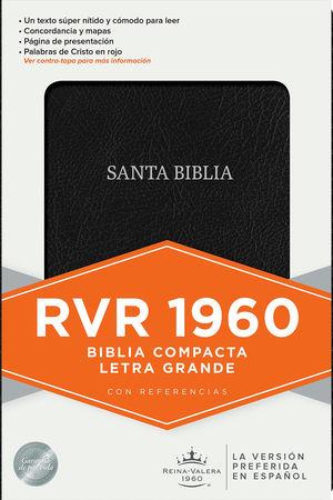 Biblia compacta. Reina Valera 1960 (letra grande)