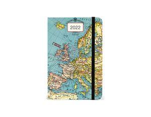 Agenda Vintage Maps 2022