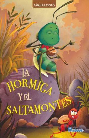 HORMIGA Y EL SALTAMONTES, LA / COL. FABULAS ESOPO
