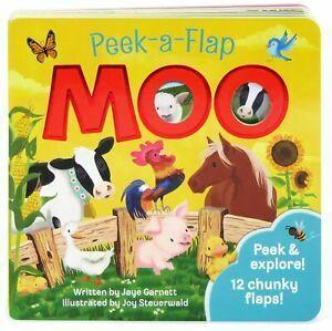 Peek-a-Flap. Moo