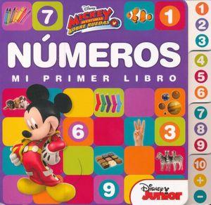 MICKEY AVENTURAS SOBRE RUEDAS. MI PRIMER LIBRO NUMEROS / PD.