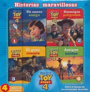 TOY STORY 4 (4 TITULOS) / HISTORIAS MARAVILLOSAS / PD.