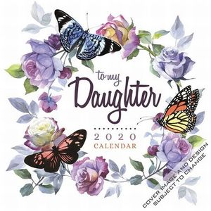 CALENDARIO TO MY DAUGHTER 2020 SQUARE