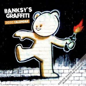 CALENDARIO BANKSYS GRAFFITI 2020 SQUARE