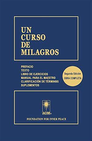 UN CURSO DE MILAGROS / 2 ED. / PD.