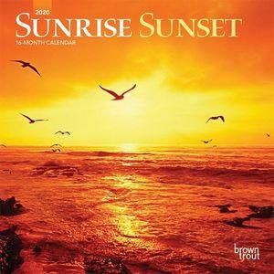 CALENDARIO SUNRISE SUNSET 2020 MINI
