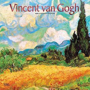 CALENDARIO VINCENT VAN GOGH 2020 SQUARE