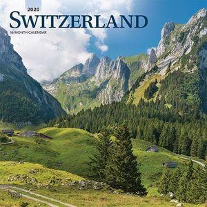 CALENDARIO SWITZERLAND 2020 SQUARE