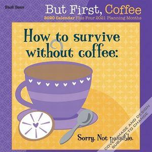 CALENDARIO BUT FIRST COFFEE 2020 MINI