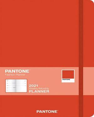 Pantone Planner 2021 Rojo