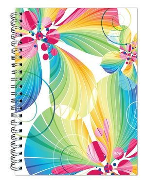 Blended blossoms 2021 Desk planner