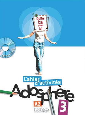 ADOSPHERE 3 CAHIER D ACTIVITES (INCLUYE CD)
