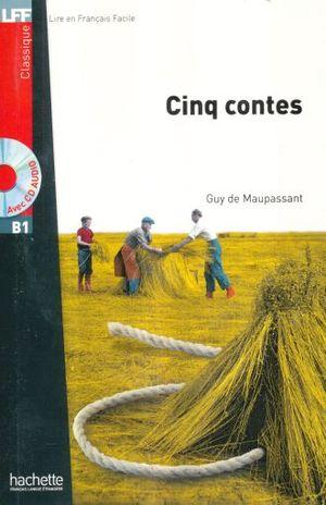 CINQ CONTES. B1 (INCLUYE CD)