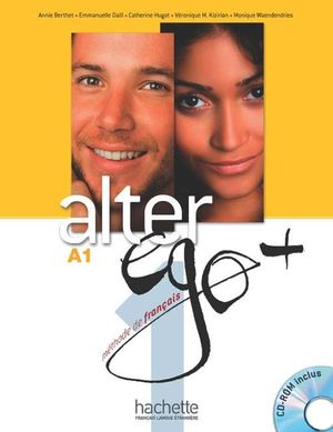 ALTER EGO PLUS 1 METHODE DE FRANCAIS (INCLUYE CD)