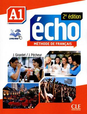 ECHO A1 METHODE DE FRANCAIS / 2 ED. (CD INCLUS)