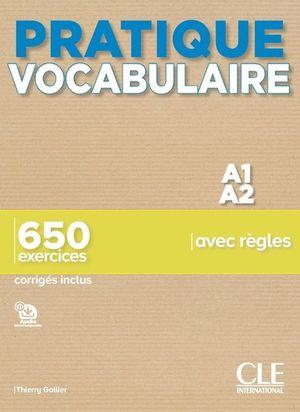 Pratique vocabulaire A1 A2 (Audio telechargeable)