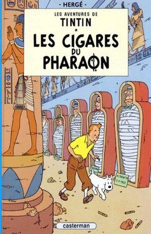 Les aventures de Tintin. Les cigares du pharaon / Vol. 4 / pd.
