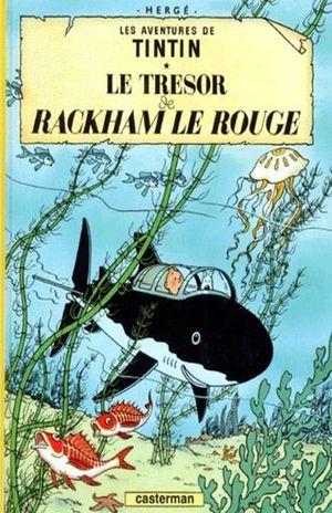 Les aventures de Tintin. Le tresor de Rackham le rouge / Vol. 12 / pd.