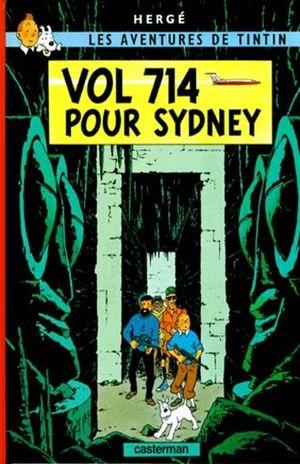 Les aventures de Tintin. Vol 714 pour Sidney / vol. 22 / pd.