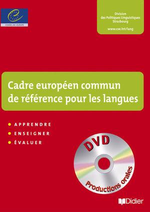 CADRE EUROPEEN COMMUN DE REFERENCE POUR LES LANGUES (DVD INCLUS)