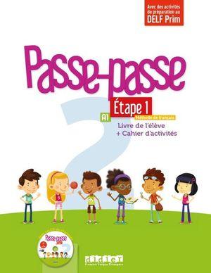 Passe-passe 2 Étape 1 A1 Livre de l'élève + Cahier d'activités