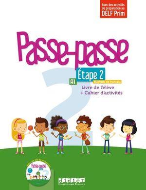 Passe-passe 2 Étape 2 A1 Livre de l'élève + Cahier d'activités
