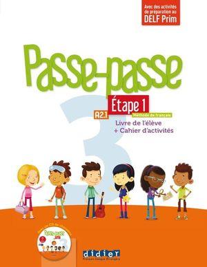 Passe-Passe 3 Étape 1 A2.1 Livre de l'élève + Cahier d'activités